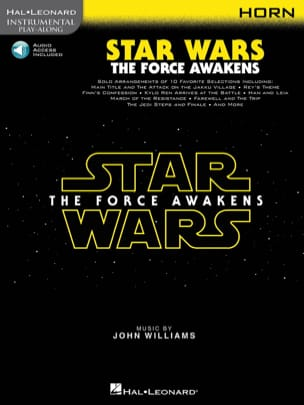 Star Wars The Force Awakens John Williams Partition Cor - laflutedepan