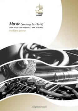 John Miles - Music was my first love - Horn Quartet - Partition - di-arezzo.fr