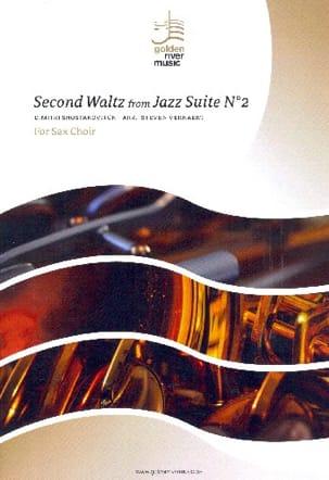 Second Waltz from Jazz Suite n°2 - Sax Choir - laflutedepan.com