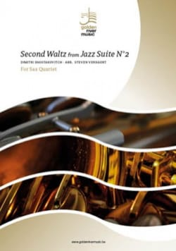 CHOSTAKOVITCH - Second Waltz from Jazz Suite No. 2 - Sax Quartet - Sheet Music - di-arezzo.co.uk