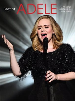 Adele - The Best Of Adele (Easy Piano) - Partition - di-arezzo.fr