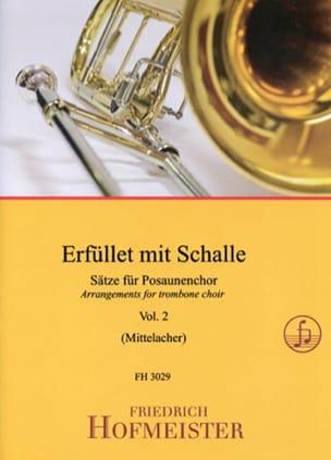 Erfüllet Mit Schalle - Volume 2 - Partition - di-arezzo.fr