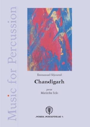 Chandigarh Emmanuel Séjourné Partition Marimba - laflutedepan