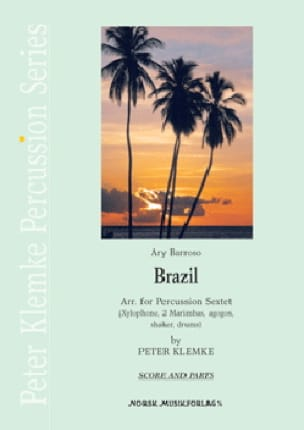 Brazil Ary Barroso Partition Ensemble de percussions - laflutedepan