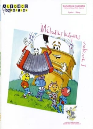 Pascal Ducourtioux - Playful Melodies - Volume 1 - Sheet Music - di-arezzo.co.uk