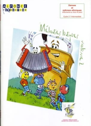 Mélodies Ludiques - Volume 2 - Pascal Ducourtioux - laflutedepan.com