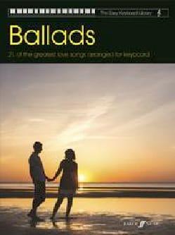 Easy Keyboard Library - Ballads - Partition - laflutedepan.com