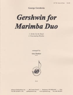 Gershwin for Marimba Duo - George Gershwin - laflutedepan.com