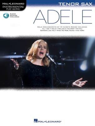Adele - Adele, for Tenor Sax - Sheet Music - di-arezzo.co.uk
