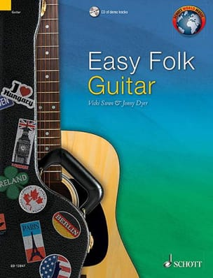 Easy Folk Guitar - Traditionnel - Partition - laflutedepan.com