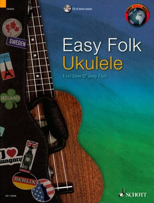 Traditionnel - Easy Folk Ukulele - Partition - di-arezzo.fr