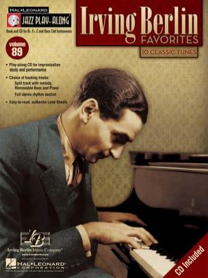 Irving Berlin - Irving Berlin Favorites - Jazz Play-Along Volume 89 - Sheet Music - di-arezzo.co.uk