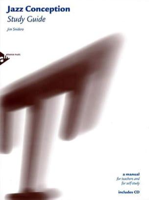 Jazz Conception Study Guide Jim Snidero Livre Harmonie - laflutedepan