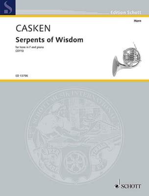 John Casken - Serpents of Wisdom - Partition - di-arezzo.fr