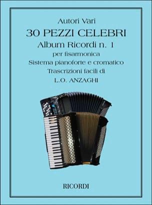 30 Pezzi Celebri Per Fisarmonica - Sheet Music - di-arezzo.co.uk