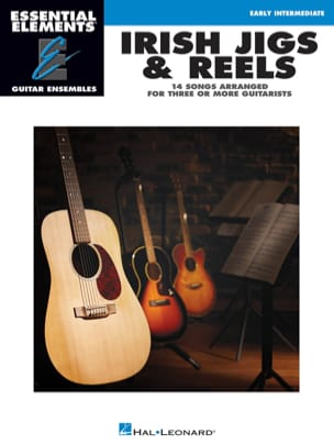 Irish Jigs & Reels - 14 Songs arranged for three or more guitarists - laflutedepan.com
