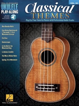- Ukulele Play-Along Volume 33 Classical Themes - Partition - di-arezzo.fr