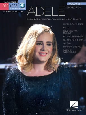 Pro Vocal Women's Edition Volume 56 Adele Adele Partition laflutedepan