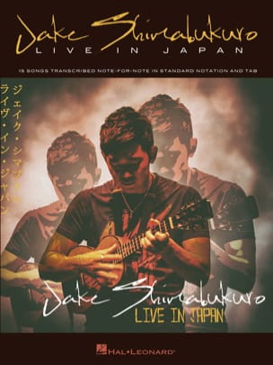 Jake Shimabukuro - Jake Shimabukuro - Live In Japan - Partition - di-arezzo.fr