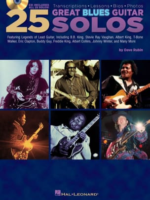 - 25 Great Blues Guitar Solos - Sheet Music - di-arezzo.co.uk