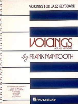 Frank Mantooth - Voicings For Jazz Keyboard - Sheet Music - di-arezzo.co.uk