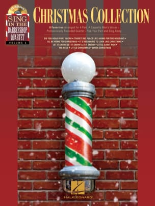 Sing In The Barbershop Quartet Volume 5 - Christmas Collection - Partition - di-arezzo.fr