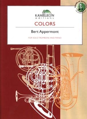 Colors - Bert Appermont - Partition - Trombone - laflutedepan.com