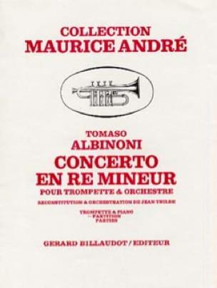 Tomaso Albinoni - Concerto in D Minor - Partition - di-arezzo.com