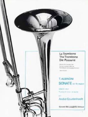 Tomaso Albinoni - Sonata in F Major - Partition - di-arezzo.co.uk