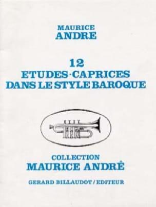 12 Etudes Caprices dans le Style Baroque - laflutedepan.com