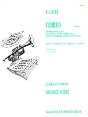 Chorals Volume 6 - BACH - Partition - Trompette - laflutedepan.com