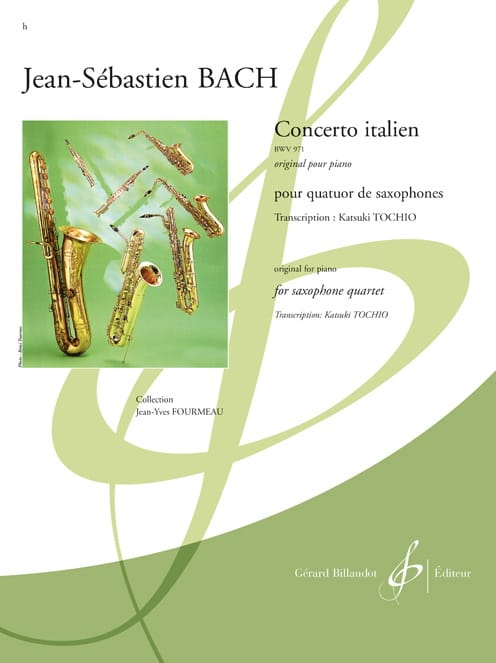 BACH - Italian Concerto BWV 971 - Partition - di-arezzo.co.uk