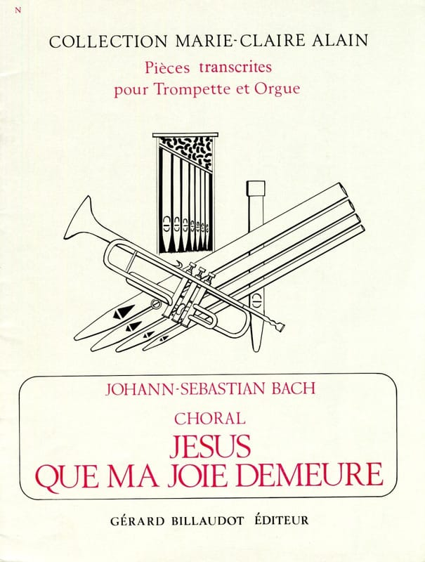 BACH - Jesus that my joy dwells - Partition - di-arezzo.com