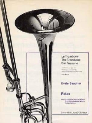 Relax - Emile Baudrier - Partition - Trombone - laflutedepan.com