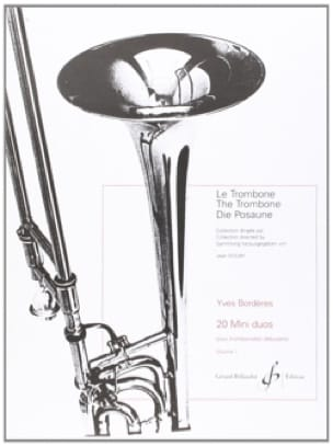 20 Mini-Duos Volume 1 - Yves Borderes - Partition - laflutedepan.com