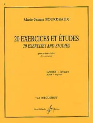 20 Exercices Et Etudes Cahier 1 - laflutedepan.com