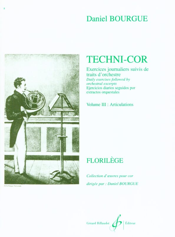 Daniel Bourgue - Techni-Cor Volumen 3 - Articulaciones - Partition - di-arezzo.es