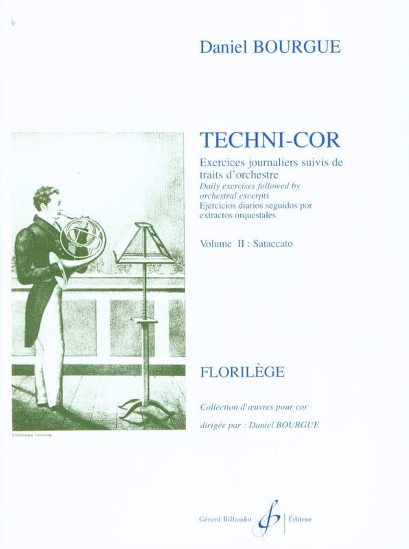 Daniel Bourgue - Volumen 2 de Techni-Cor - Staccato - Partition - di-arezzo.es