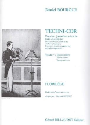 Techni-Cor Volume 5 - Transposition - laflutedepan.com