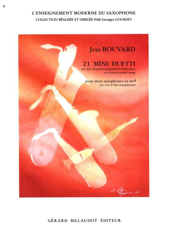 21 Mini Duetti - Jean Bouvard - Partition - laflutedepan.com