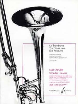 5 Etudes - CHERUBINI - Partition - Trombone - laflutedepan.com