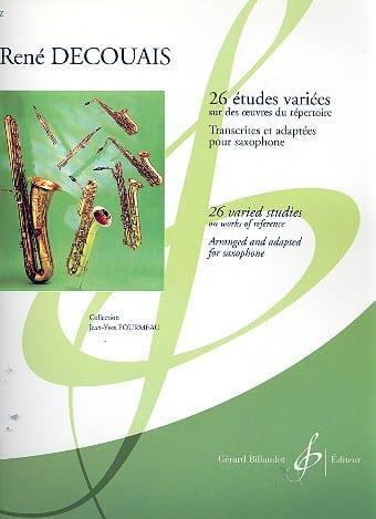 René Decouais - 26 Various Studies - Partition - di-arezzo.co.uk
