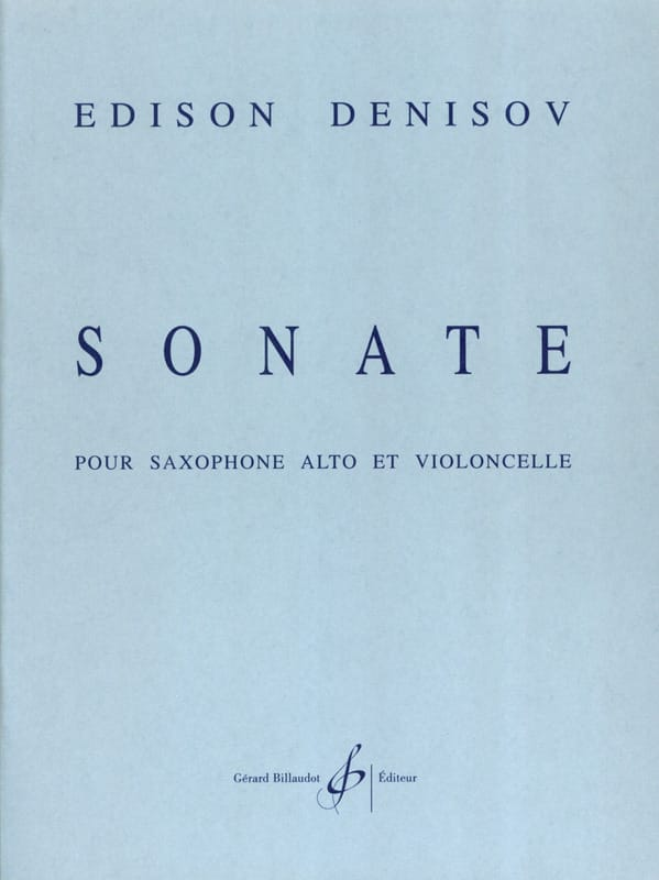 Edison Denisov - Sonata - Partition - di-arezzo.com