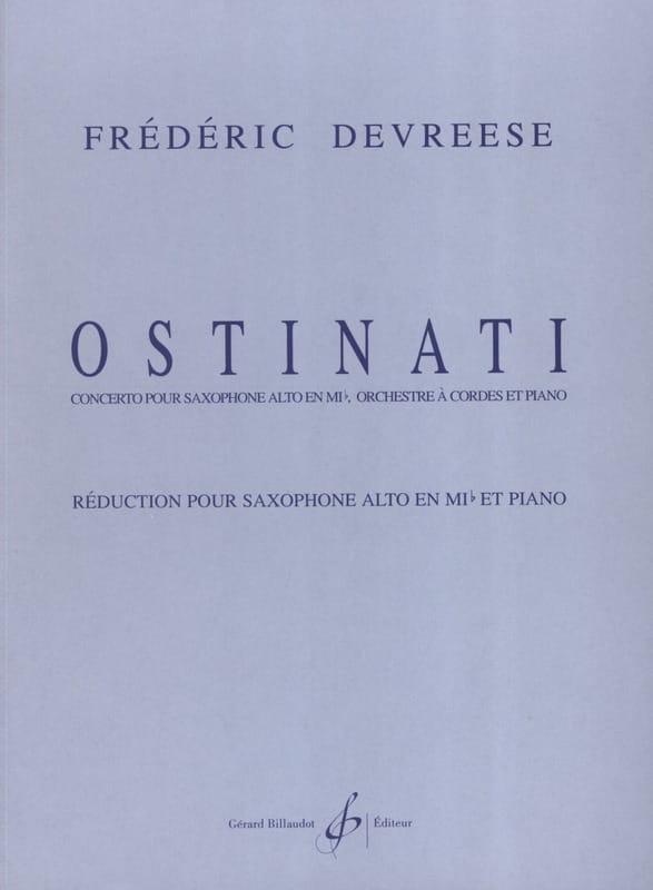 Ostinati - Frédéric Devreese - Partition - laflutedepan.com