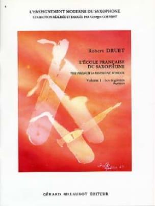 Ecole Francaise Du Saxophone Volume 1 - laflutedepan.com