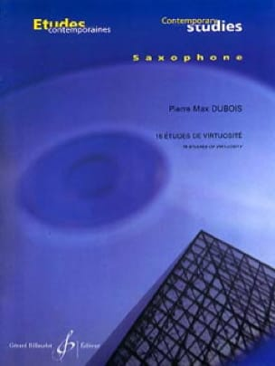 16 Etudes de Virtuosité - Pierre-Max Dubois - laflutedepan.com