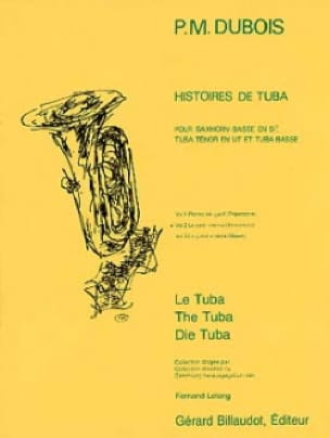 Pierre-Max Dubois - Stories of Tuba Volume 2 - The Little Cinema - Partition - di-arezzo.co.uk