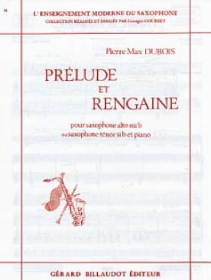 Prélude Et Rengaine - Pierre-Max Dubois - Partition - laflutedepan.com