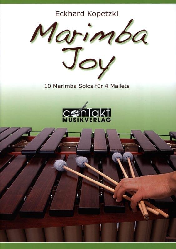 Marimba Joy - Volume 1 - Eckhard Kopetzki - laflutedepan.com