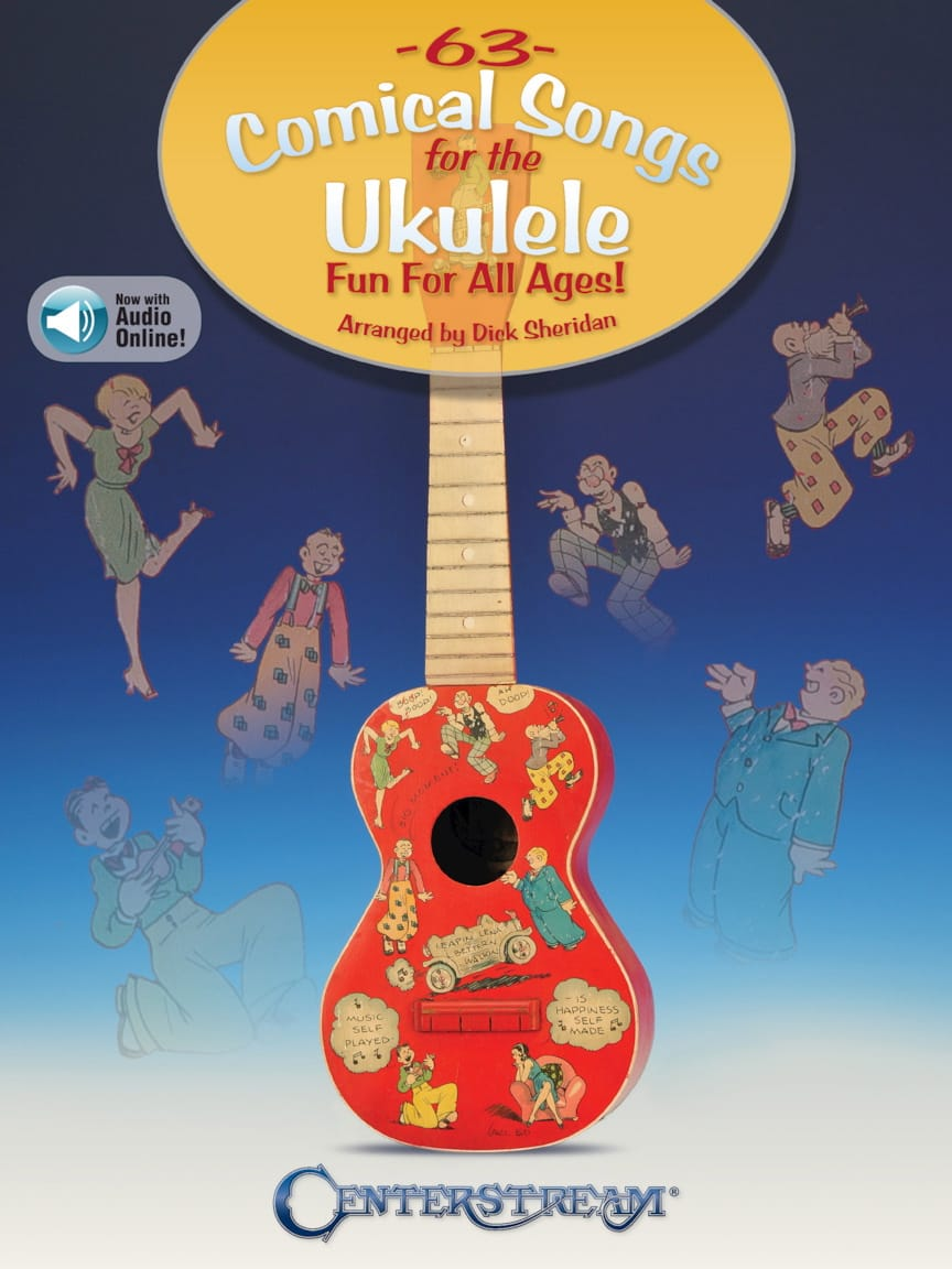 63 Comical Songs for the Ukulele - Partition - laflutedepan.com
